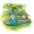 Отель Aldego Village - иконка «сад» в Уральске